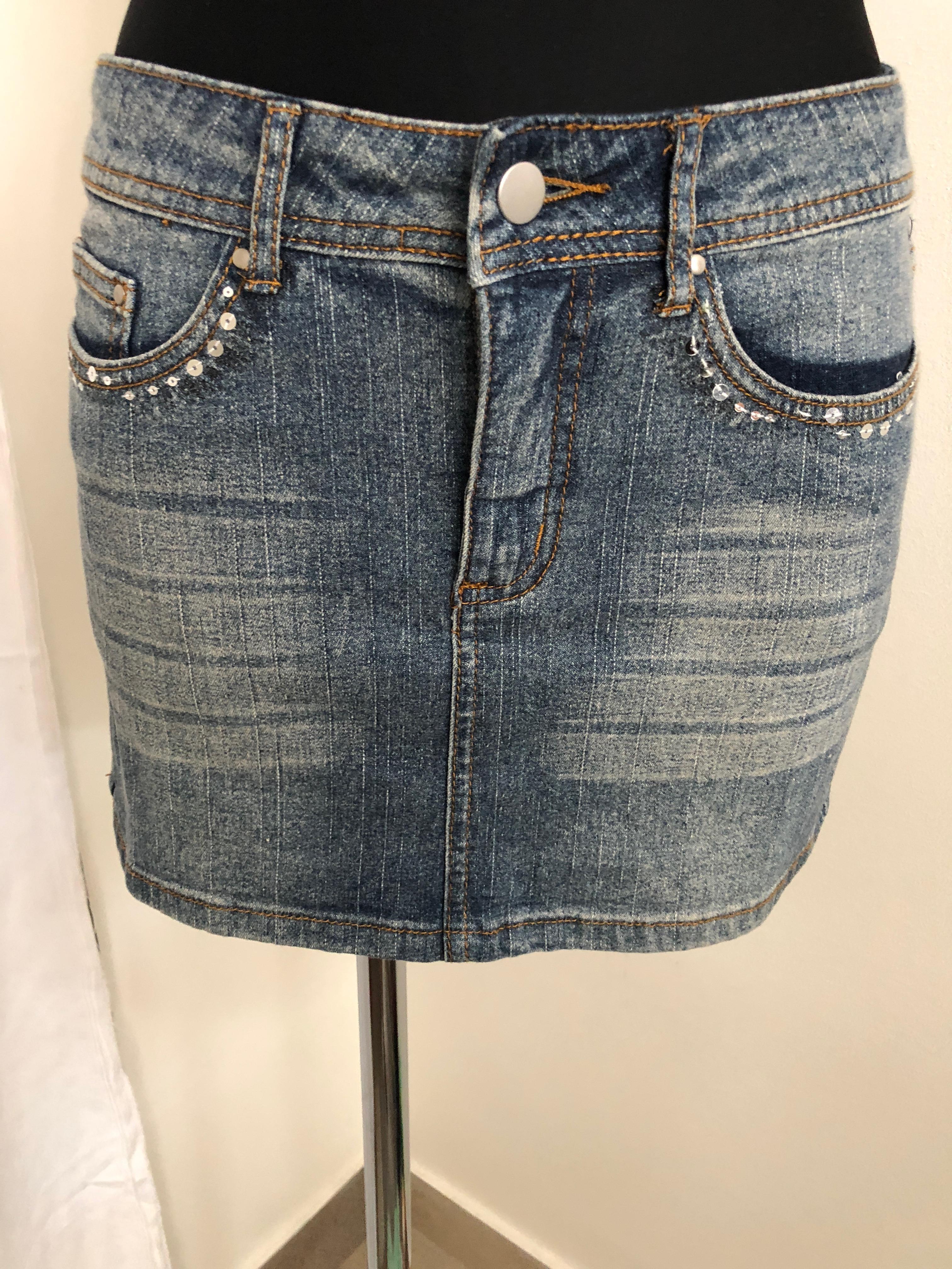 0eda144a9474 Riflová sukně Bonprix
